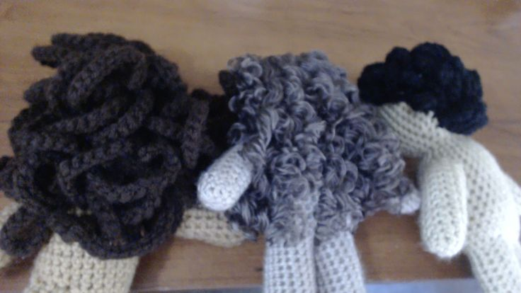 Amigurumi Curly Hair Tutorial : The 112 best images about ? Wool Doll Hair Tutorial ? on ...