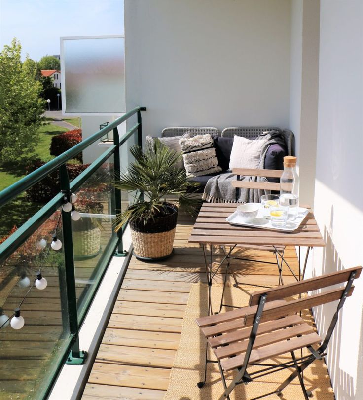 Am nagement petit balcon terrasse ext rieurs pinterest am nagement petit balcon balcon - Amenagement petit balcon ...