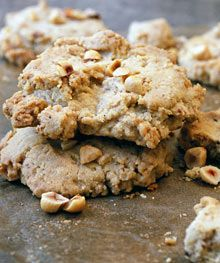 ... cookies adapted to include oats, coconut butter and orange & almonds