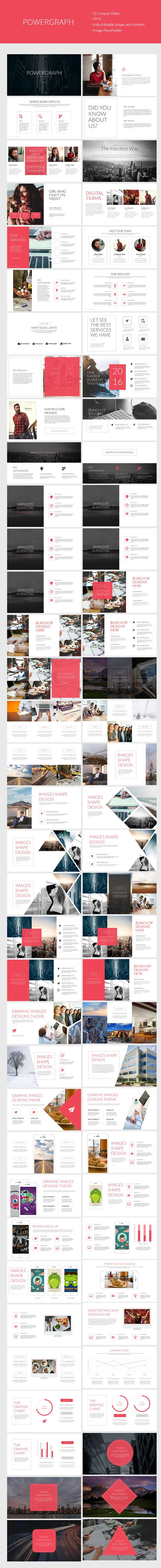 Powergraph Clean Powerpoint Template