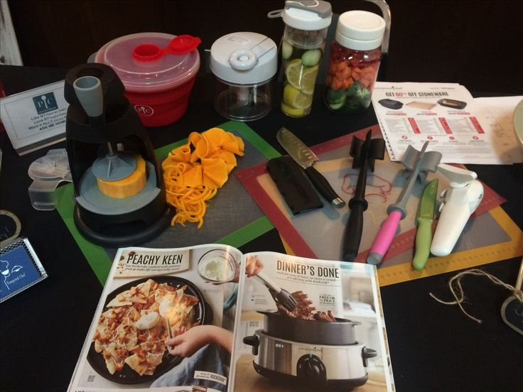 Pampered Chef Trade show,