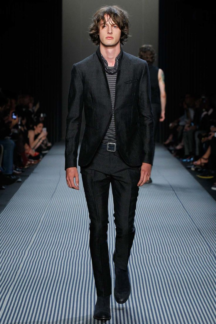 John Varvatos Spring 2016 Menswear Fashion Show