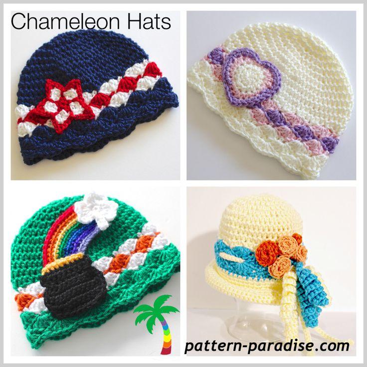 Mejores 171 imágenes de gorros ..... en Pinterest | Sombrero de ...