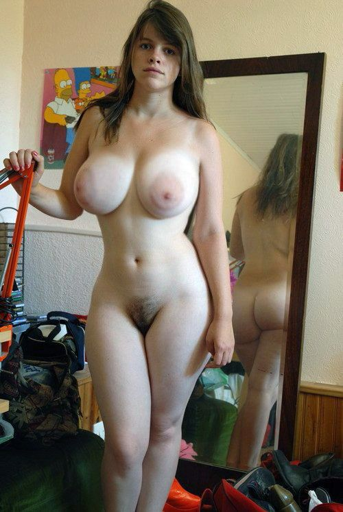 Amateur big naturals bottles in forest 10