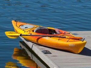 Kayaking Lake Dillon in Frisco, CO