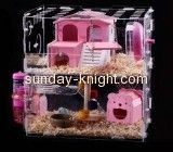 Perspex suppliers customize wedding bird cages big cheap hamster cages PCK-084