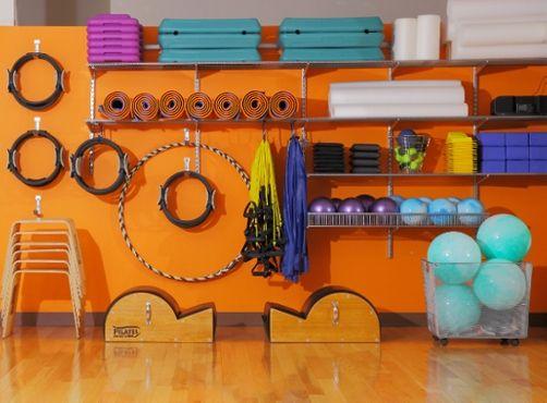 Idea For Pilates Equipment Storage
