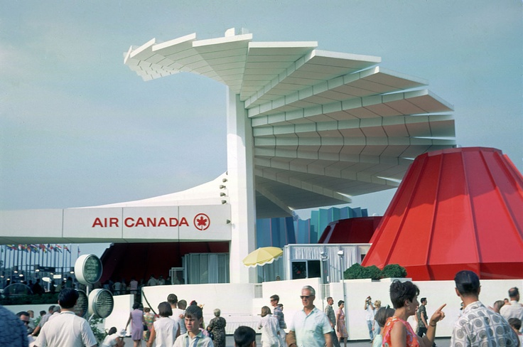 Air Canada, Expo 67 - Montreal, Quebec