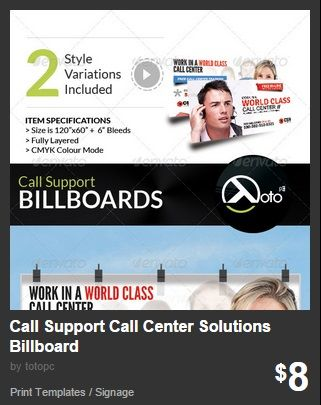 Call Support Call Center Solutions Billboard
