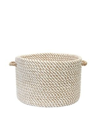 58% OFF Colonial Mills Twisted Basket (Sandy)