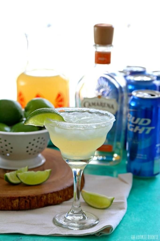 Beer cocktail recipes: A Skinny Beergarita using light beer, tequila and frozen limeade