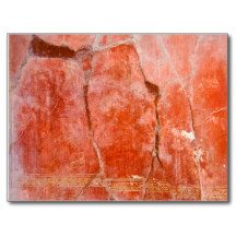 Red Pompeii Post Cards - $0.93