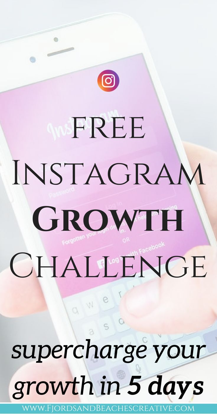 Free Instagram growth challenge, how to get instagram followers, instagram tips and advice. #Instagram #Instagramtips #instagramfollowers #Instagramforbusiness