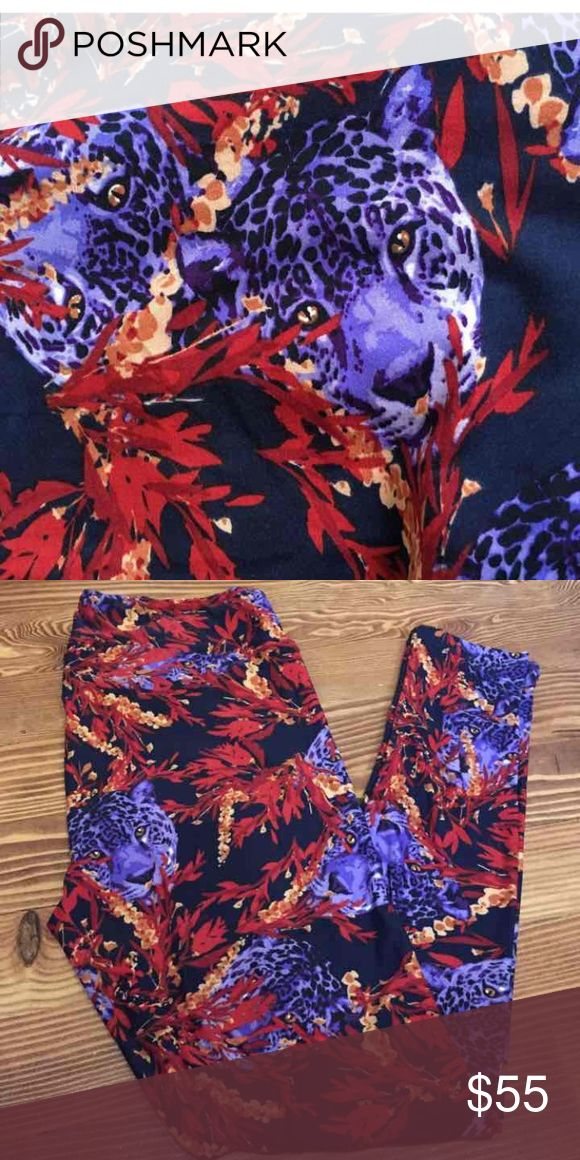 LuLaRoe TC PURPLE CHEETAHS leggings Brand new with or without tag. TC tall and curvy (fits most 12-22) purple cheetah / tiger leggings. Black background. New, hard to find popular print. *I am NOT a LuLaRoe consultant. Just an addict who loves to hunt for great prints.* LuLaRoe Pants Leggings