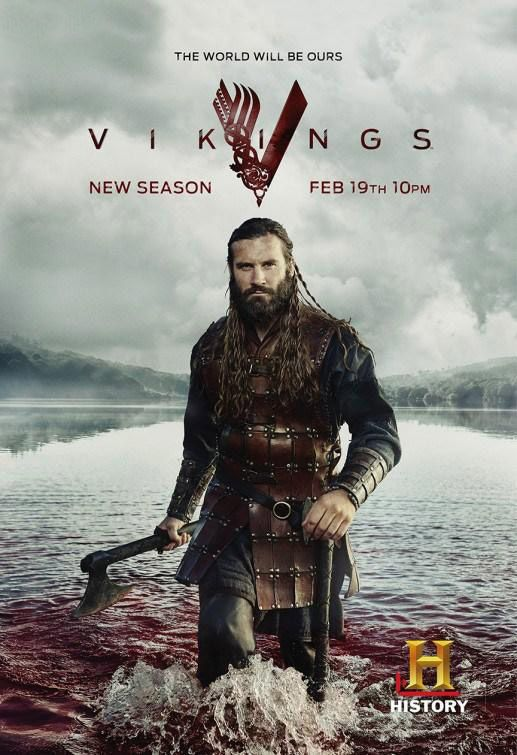 Vikings, saison 3 - Le poster avec Rollo
