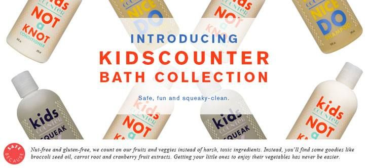 Safe personal care products; non-toxic; organic; beauty products; gluten free; vegan; makeup; environmental health; chemicals; beautycounter; kids shampoo; kids body wash; kids safety; kids conditioner
