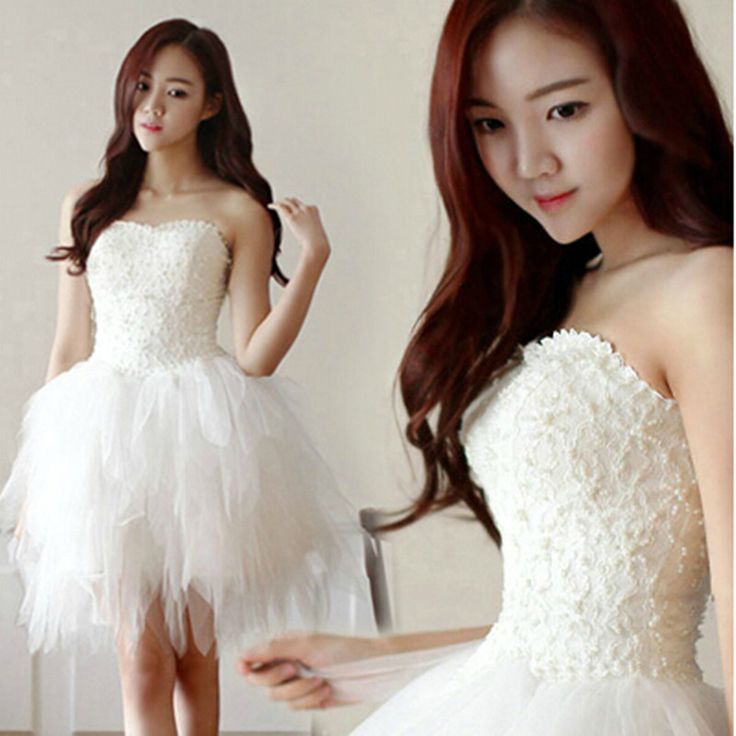Find More   Information about Lace Beading Short Wedding Dresses Sexy Plus Size Vintage style 2016 Real Photo Louisvuigon white Ivory cute Beach wedding dress,High Quality  ,China   Suppliers, Cheap   from Sunflower Bridal on Aliexpress.com