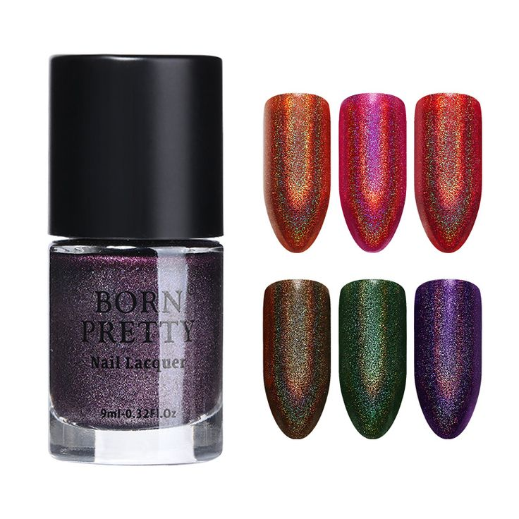 BORN PRETTY Holo Series Glitter Nail Polish - Gamma Ray