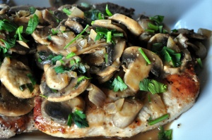 Pork Chops with Mushrooms 5 points+ | Favorite Recipes | Pinterest