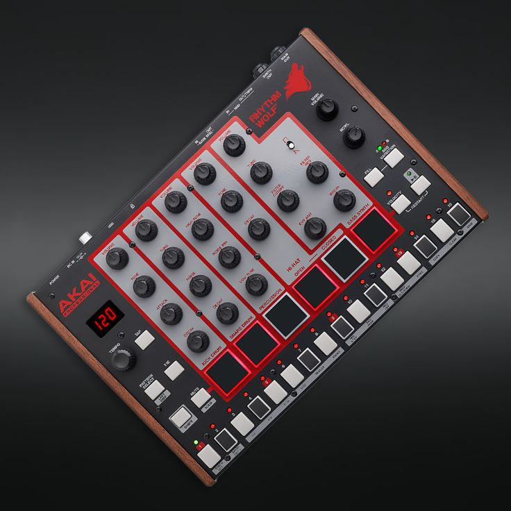 Discover all the details about the Akai Rhythm Wolf Analog Drum Machine & Synthesizer and learn about the best mixers and mics from the Pro Audio enthusiast community on Massdrop.