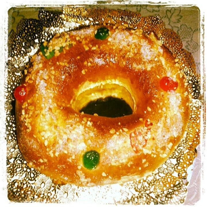 Ñam ñam Roscón de Reyes!!!