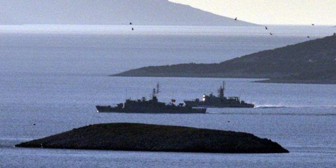 ΕΚΤΑΚΤΟ: Ναυτικό αποκλεισμό των Ιμίων με συγκέντρωση πολλών πολεμικών πλοίων και σκαφών της Ακτοφυλακής επιχειρεί τώρα η Τουρκία