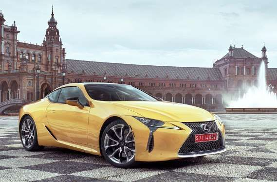 An all-new model for Lexus is the 2018 Lexus LC, a high-performance luxury sports coupe derived from... - Toyota Motor Sales, U.S.A., Inc.