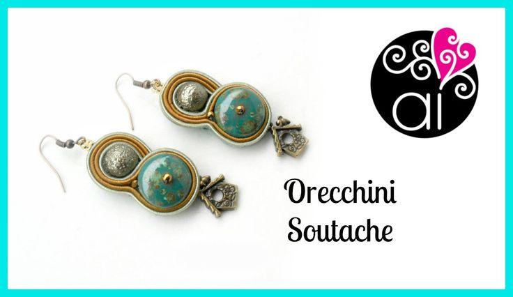 Soutache | Sutasz | Orecchini | In collaborazione con Perla di Ceramica