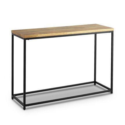 Asian Arts Linda Rectangular Console Table Natural,Living Room Furniture