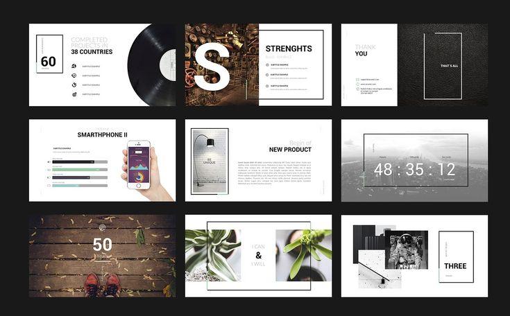 Century Powerpoint Template by Zacomic Studios on @creativemarket