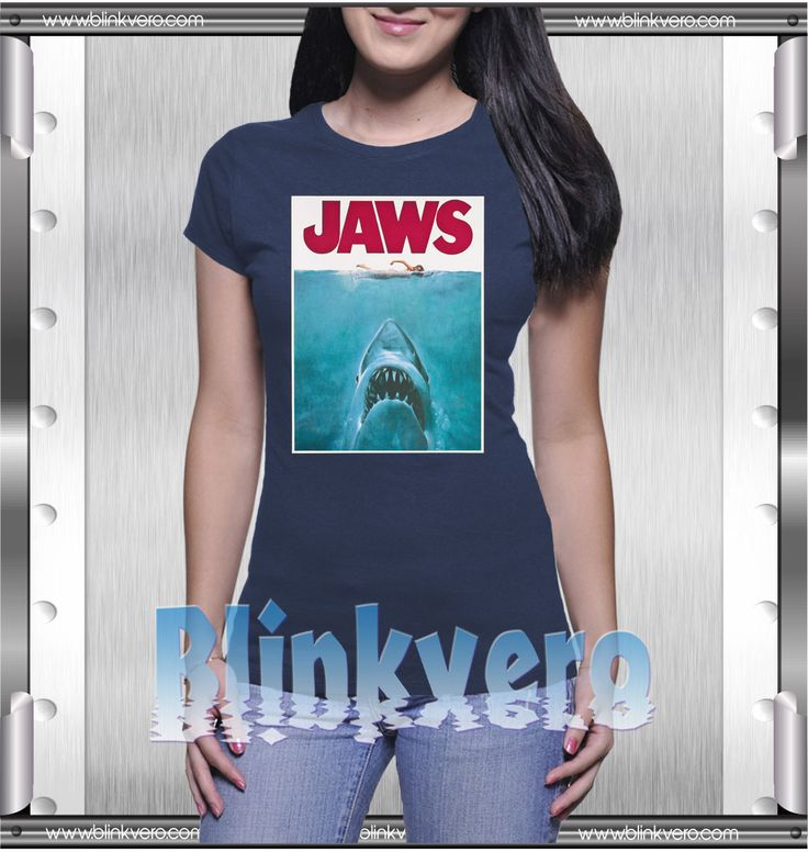 Jaws Style Shirts T shirt For Womens Size S-3XL Unisex Shirt //Price: $10.25 & FREE Shipping //     #custom shirts