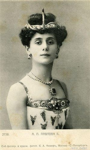 Anna Pavlovna Pavlova (Feb 12, 1881, Saint Petersburg, Russia ~ Jan 23, 1931, The Hague, Netherlands):  Russian prima ballerina of late 19th and early 20th centuries. Principal artist of the Imperial Russian Ballet and the Ballets Russes of Sergei Diaghilev. Wikipedia ~Repinned Via Maria Verdi