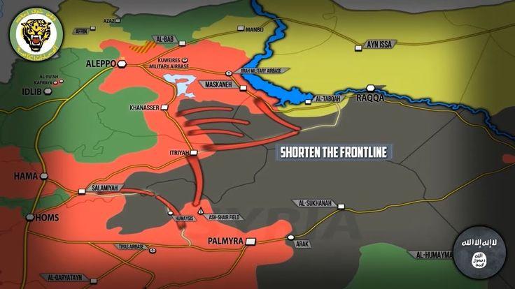 9 июня 2017. Военная обстановка в Сирии. Армия отбила у ИГИЛ порядка 24 ...