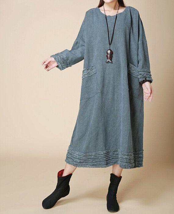Fabrics; Cotton, linen Color; bice,dark red, black Size Without limiting the Shoulder Shoulder + Sleeve 58cm Bust 120cm Waist 130cm Length 112 cm Hem 158cm     Have any que... #gown #malieb