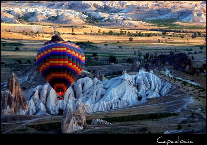 35-Inspirational-Photographs-10: Eastern Europe, Places To Visit, Hot Air Balloon, Fairies, Beautiful Places, Rocks Formations, Cappadocia Turkey, Ray Ban Sunglasses, Country Pictures