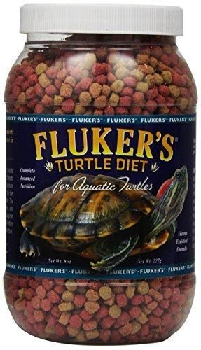 Fluker Aquatic Turtle Diet - 8 oz jar