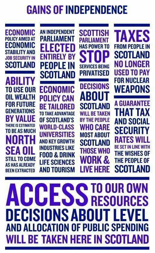 Scottish Independence Referendum ~ Scotland YES! 2014