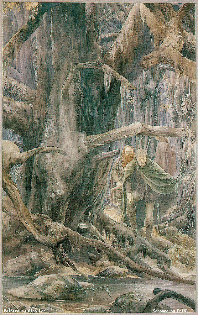 Tolkien Art Gallery  Alan Lee Illustrator