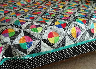 Pastimes Quilt Design: Circle Fun - Free Quilt Pattern