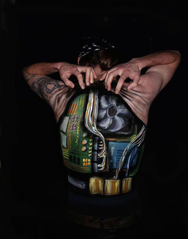 Natalie Fletcher Creates Fascinating Body Illusions | iGNANT.de