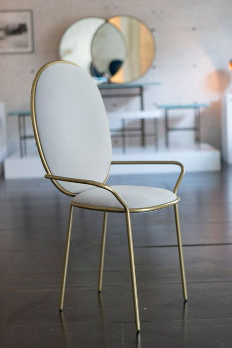 Nika Zupanc adds seating to her collection for Sé.