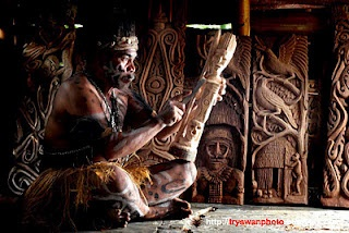Asmat Carving - Papua, Indonesia