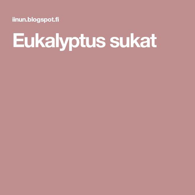Eukalyptus sukat