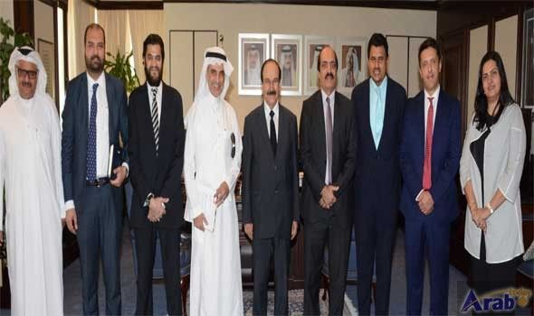 Electricity minister receives company officials