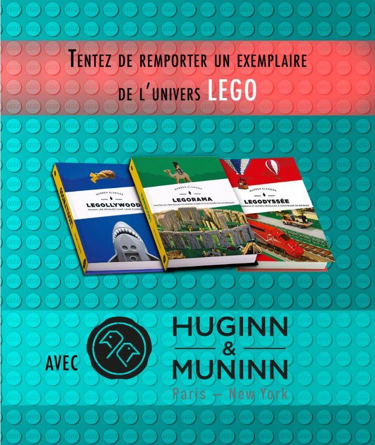 SallesObscures.com - Concours Lego Huginn & Muninn: Gagnez des livres de l'univers Lego - Concours cinéma et gros plans - cinéma et DVD