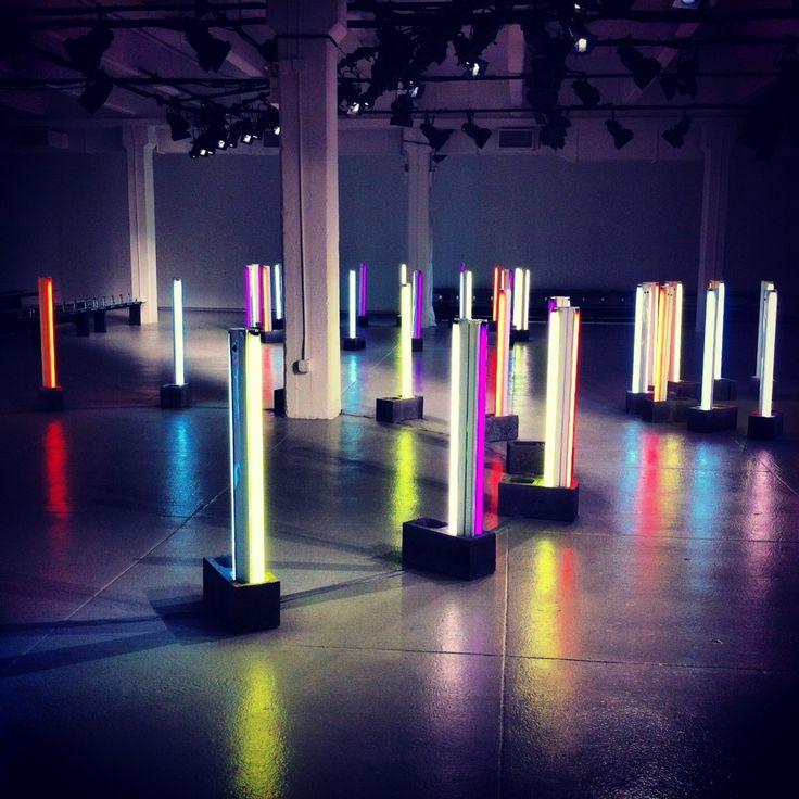 Rodarte Fashion Show Stage. #ccalightlab #vodelightlab