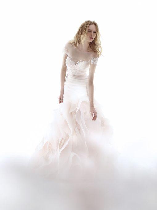 おとぎ話のよう♡ピンクのマーメイド ウェディングドレス・カラードレス・花嫁衣装のまとめ一覧♡