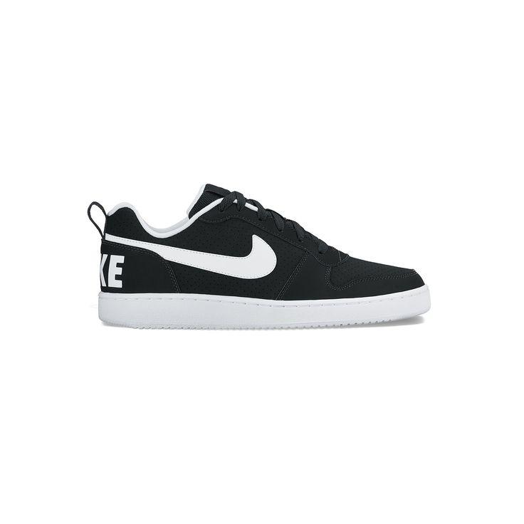 Nike Court Borough Low Men's Basketball Shoes, Size: 11.5, Grey (Charcoal), Durable