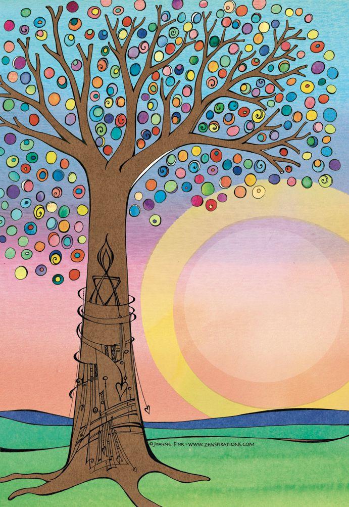 Zenspirations - BLOG - A ColorfulExperiment