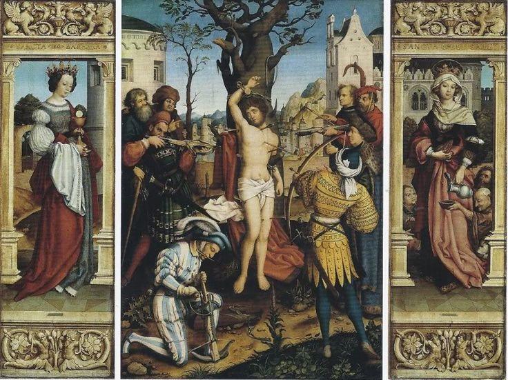 Photobucket Ганс Гольбейн старший, aлтарь святого Себастьяна, 1516